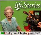 Put your elderly loved one's life story on DVD today for future generations to share.